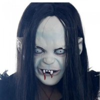 Horror Screaming Bloody Face Off Horror Halloween Costume Mask Halloween Decorations Vampire Mask Horror Mask A